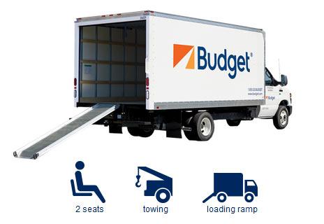 Budget Moving Trucks >> Budget Truck Rental