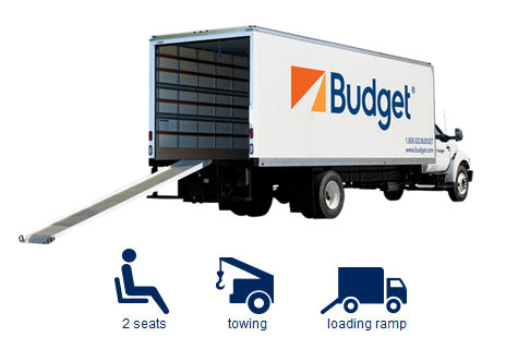 3ca63f62ee 26 ft Box Truck. Our 26 ft Budget Rental ...